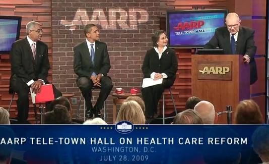 Aarp Tele Town Hall Meeting On Health Care June 28 2009