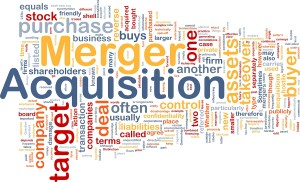 merger acquisition word cloud