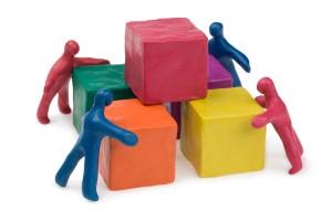 bigstock-Business-teamwork--collective-30443180