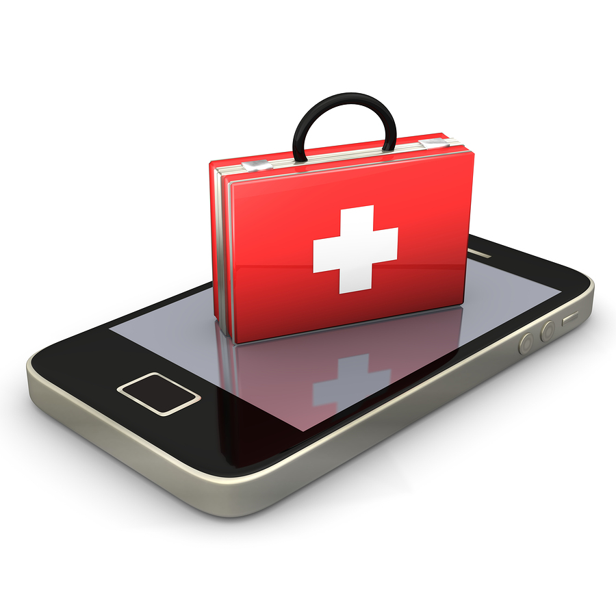 Which mhealth companies scored Happtique certification?
