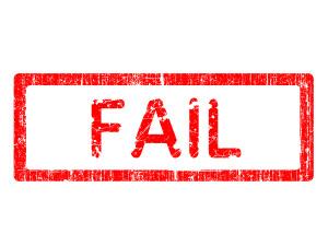 fail failure
