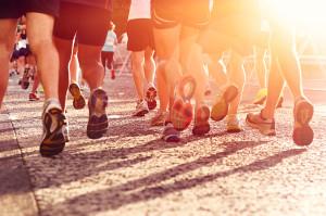 Marathon running race fitness