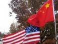 china and american flags