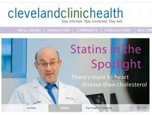 Cleveland Clinic launches its own WebMD - MedCity News