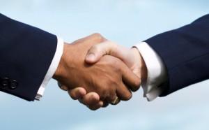 deal shake hands