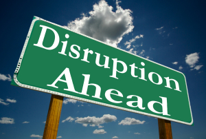 disruption art
