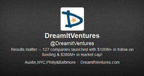 DreamIt Ventures joins Y Combinator and TechStars on list of top 15 accelerators