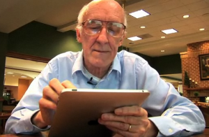 elderly mobile health ipad
