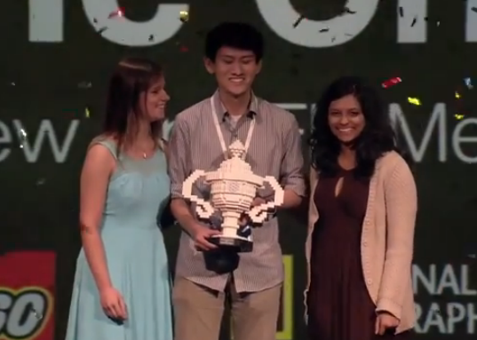 Wow of the Week: 17-year-old Google Science Fair champ discovers new leads for anti-flu drugs