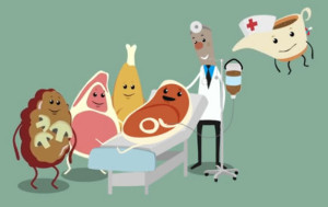gravie hospital scene