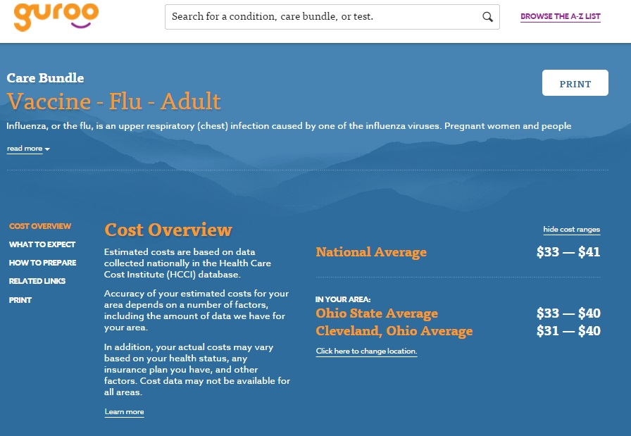 Will new health-pricing service Guroo.com provide protection in a high-deductible world?