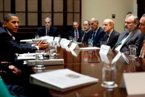 Pres. Obama meets with health care leaders on May 11, 2009