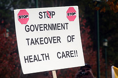 health reform protest