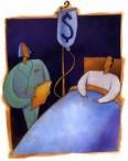 hospital money