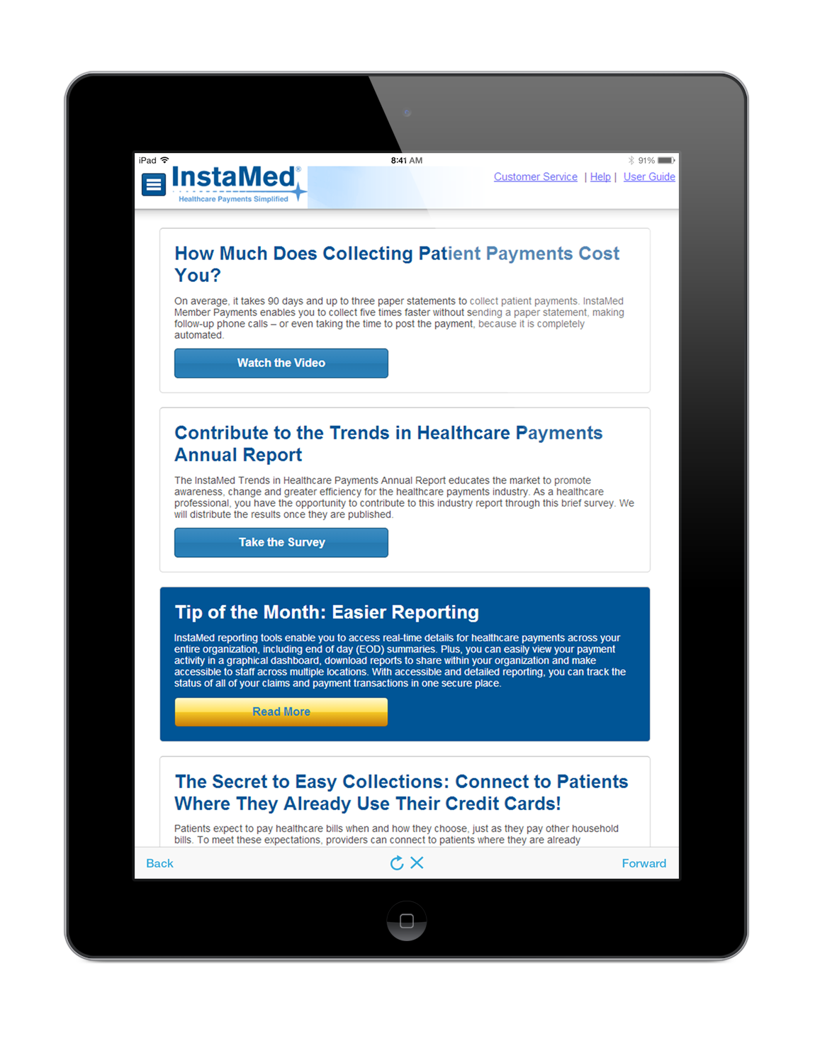 "InstaMed expands mhealth services for medical bill payment, sees convenience as ""powerful retention tool"""