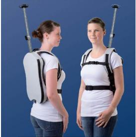 Awesome or awful? Backpack makes IVs more portable