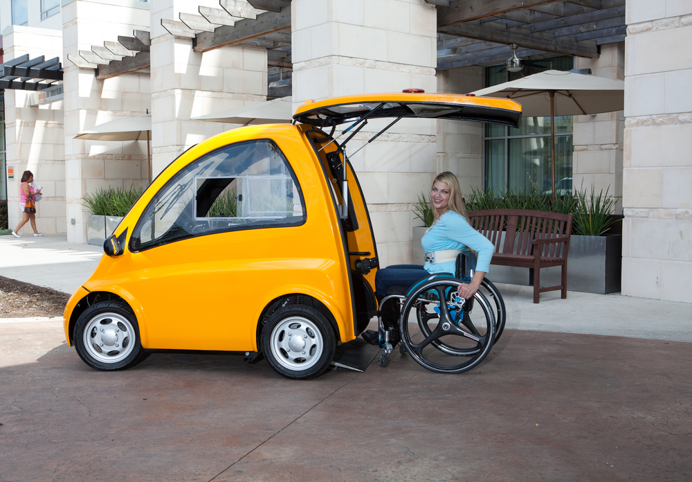 Texas lawyer building hatchback cars made for people in wheelchairs
