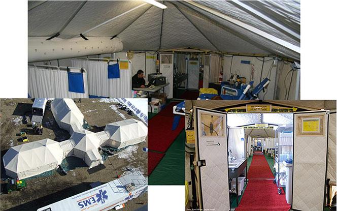 Medizone prototypes field hospital for Ebola threat