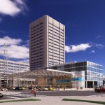 Rendering of the Medical Mart and Convention Center