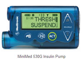 Medtronic's Minimed 530G Insulin Pump, hailed as 'artificial pancreas'