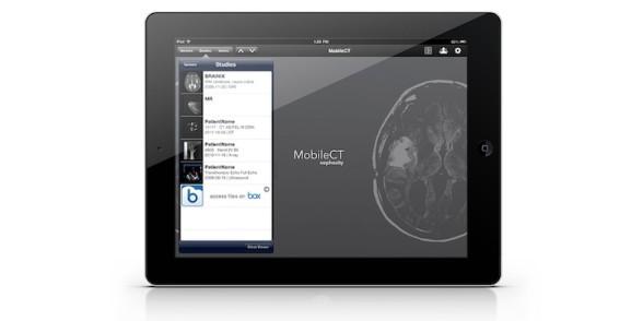 medical iPad app