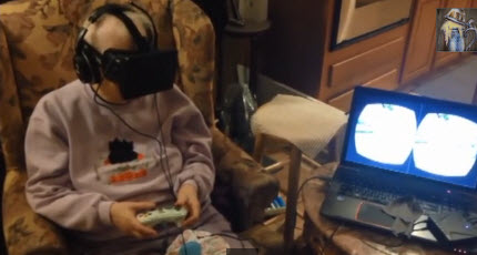What does Oculus Rift have to do with cancer? For this grandmother, it was 'so therapeutic'
