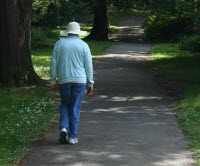 A walk a day could lessen chance of breast cancer for older women