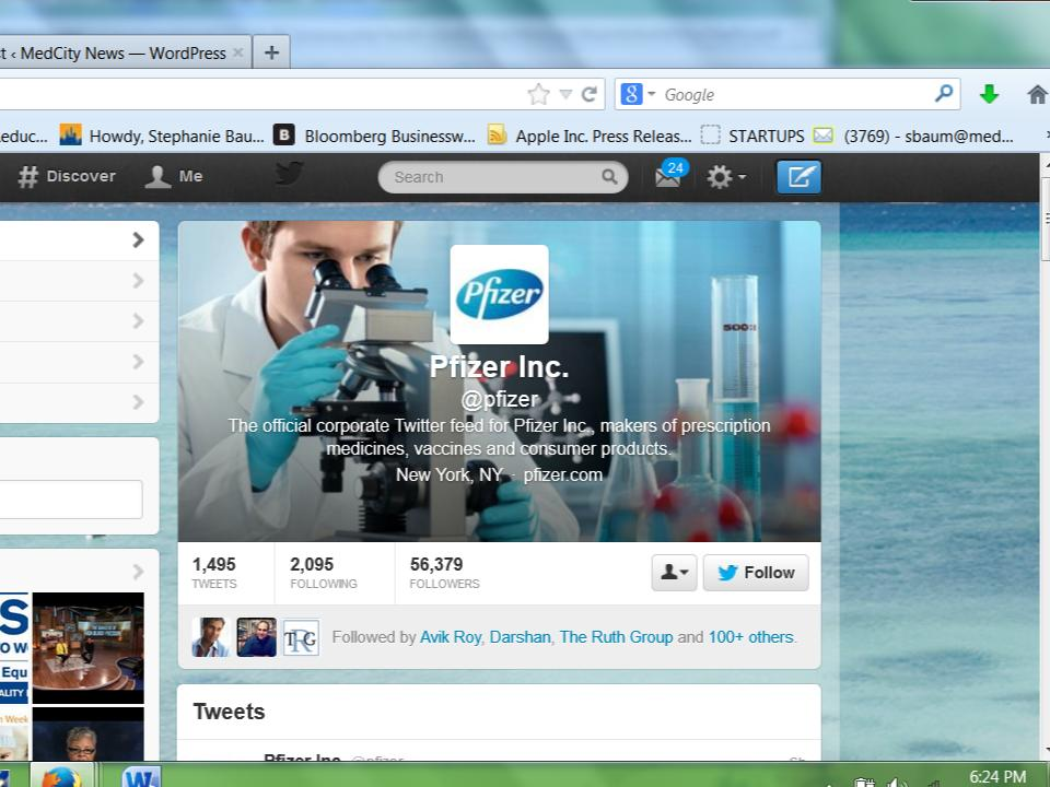 How Pfizer reclaimed its Twitter handle: a surreal look at corporate social media
